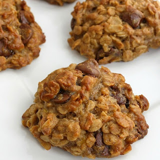 Chocolate Chip Banana Oat Cookies