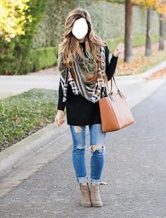 Girls Jeans Photo frame - náhled