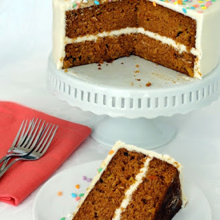 Super Moist Carrot Cake with Cream Cheese Icing