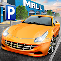 Shopping Mall Parking Lot icon