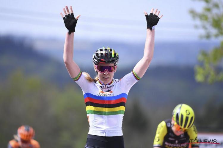 🎥 Onvoorstelbaar maar waar: Anna van der Breggen nu al voor vijfde jaar op rij de beste in Hoei!