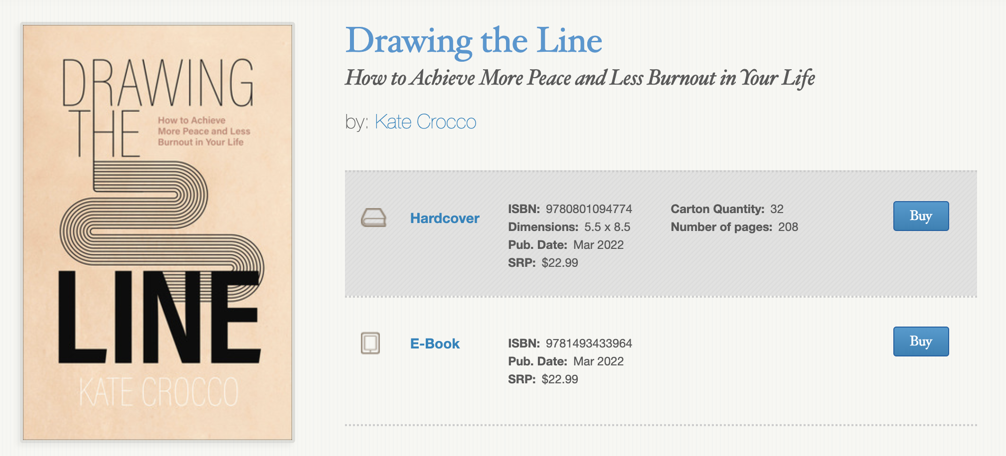 Drawing the Line book listing