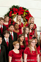 Photo: 12-18-14 Clarksville High School Concert Choir