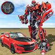 Super Robot Car Transforme Futuristic Supercar