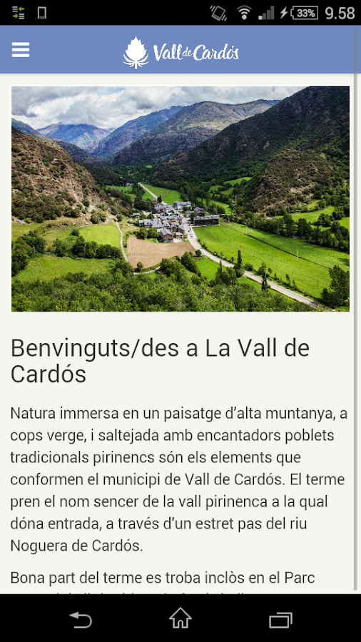 Vall de Cardós- screenshot