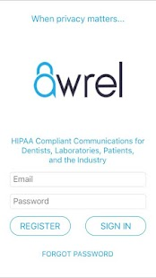 Awrel Secure Messaging- screenshot thumbnail
