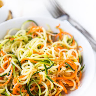 Vegetable Zoodle Salad