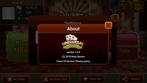 Universal Teen Patti - Indian Poker Game 0.24 gameplay | by HackJr.Pw 12