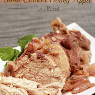 Slow Cooker Honey Apple Pork Roast