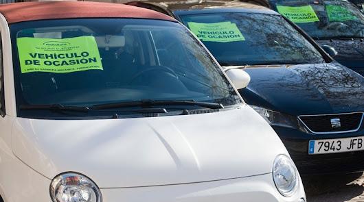 La crisis empuja a los almerienses a los coches de segunda mano