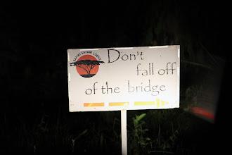 Photo: die gönnen einem hier aber auch keine Abenteuer...