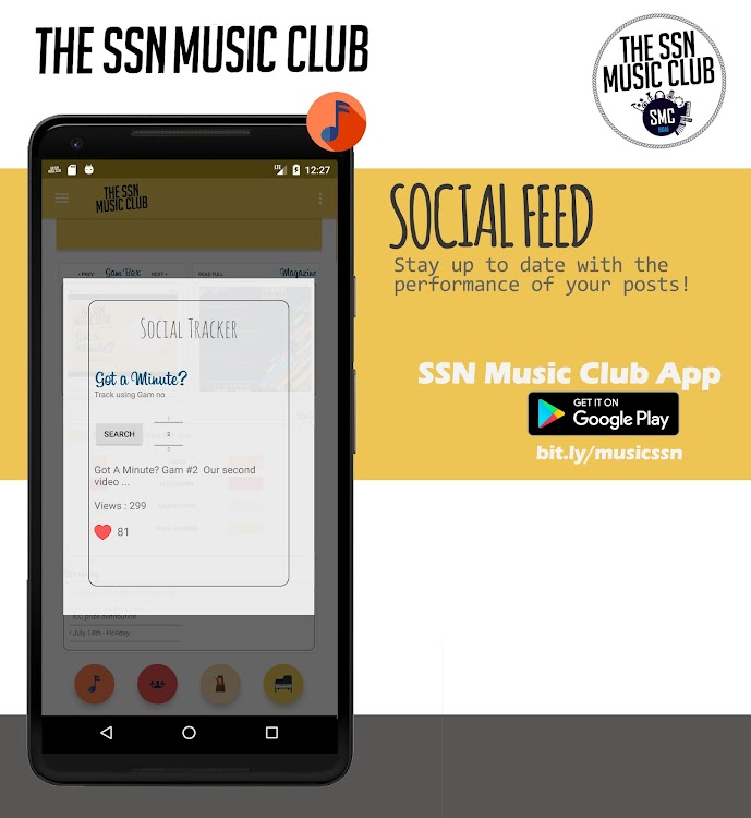 The SSN Music Club – (Android Apps) — AppAgg