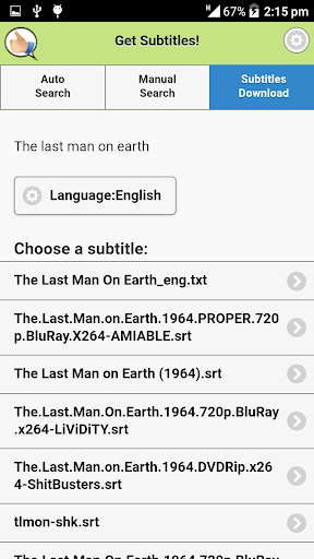 Get Subtitles 10.0 screenshots 2