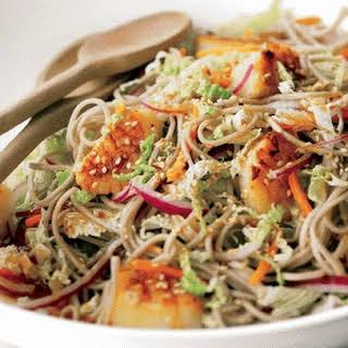 Sesame Scallop Salad.