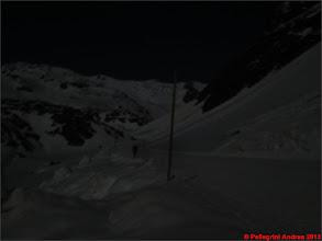 Photo: IMG_2314 Marco fantasma sulla pista nera che risaliamo