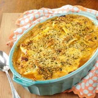 Layered Potato Beef Casserole