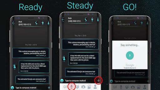 Voice messenger 1.0.41 screenshots 1