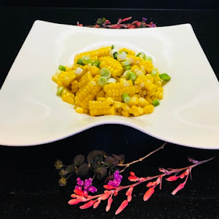 Star Anise Infused Chipotle Corn.
