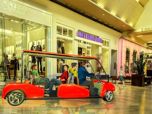 Shopping Mall Radio Taxi: Car Driving Taxi Games apkslow screenshots 10