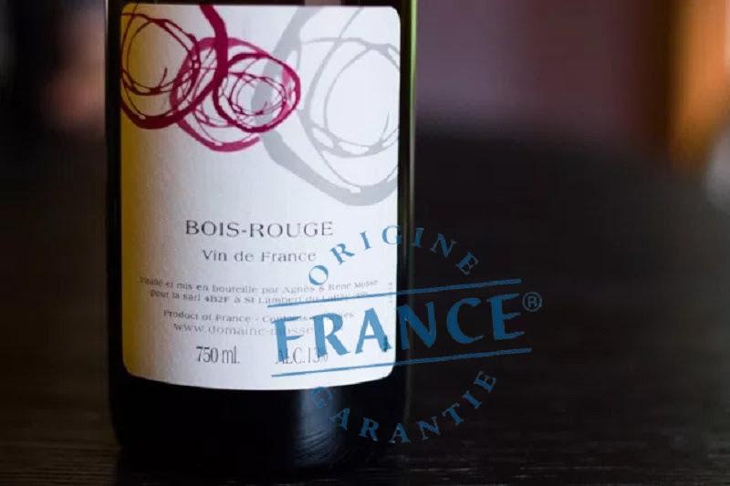 phân loại Vin de France. Ảnh: GooglePhoto
