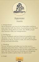 Screenshot of Daily Zodiac Horoscopes & More