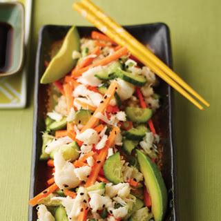 Crab Salad Sushi Recipes.