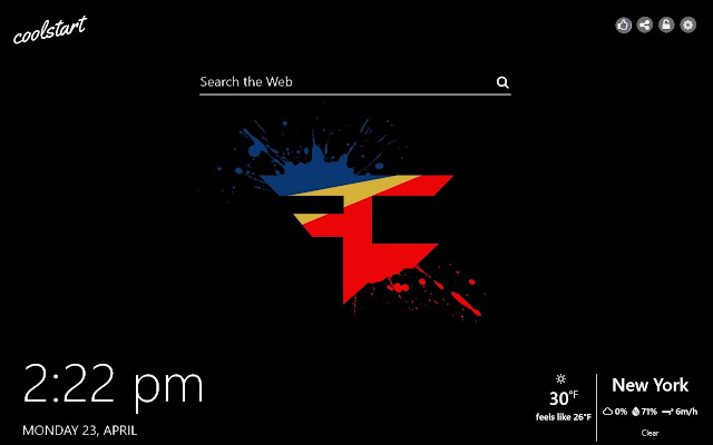FaZe Clan HD Wallpapers Socials New Tab Theme