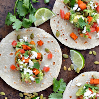 Loaded Guacamole Tacos.