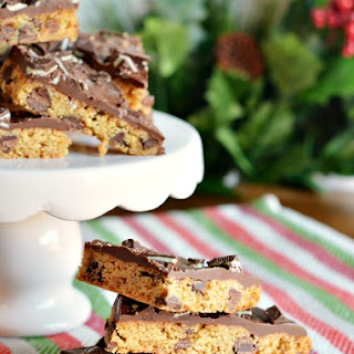 Andes Mint Chocolate Chip Cookie Bark
