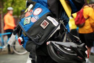 Photo: Bike to Work 12: Well-Traveled Bag
