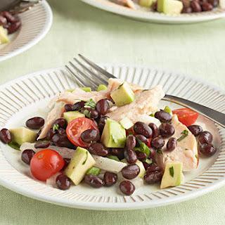 Southwest Chicken & Bean Salad