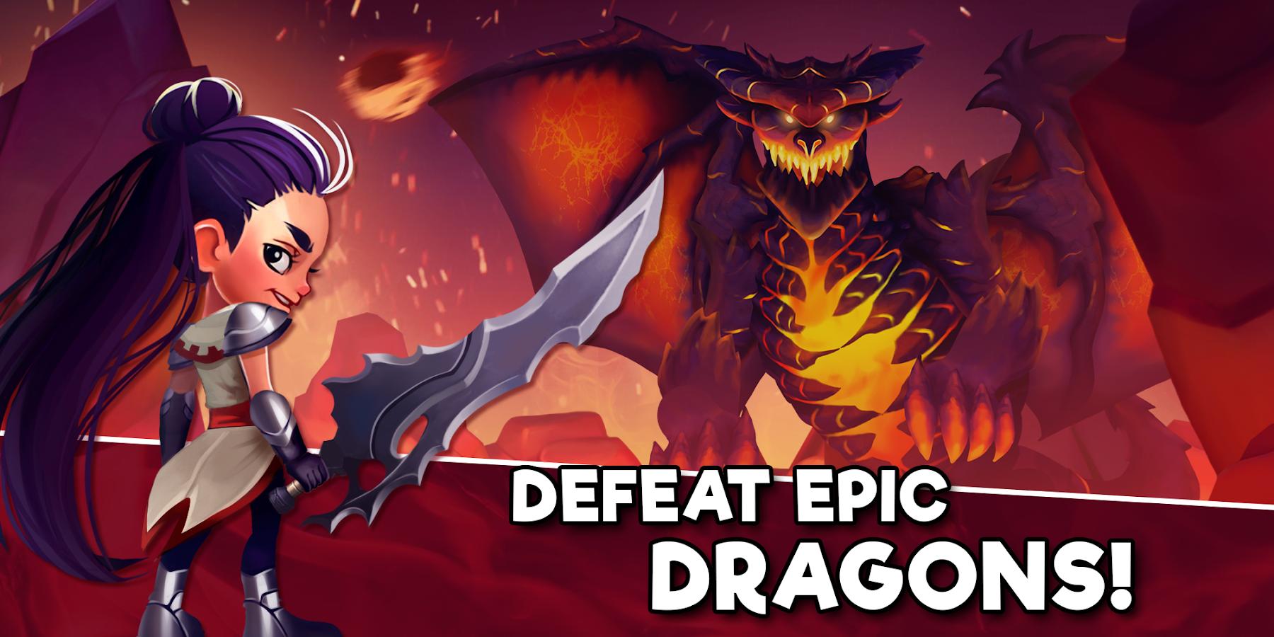 Taps Dragons  Clicker Heroes Screenshot