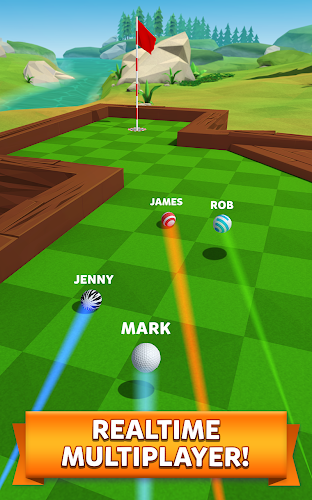 Golf Battle Android App Screenshot