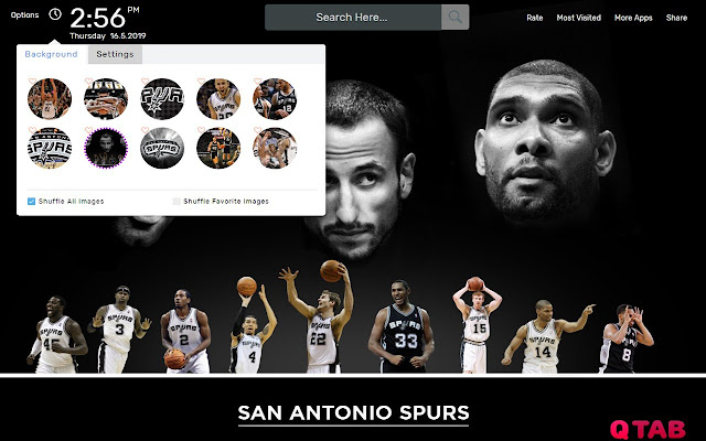 NBA San Antonio Spurs Wallpapers Theme