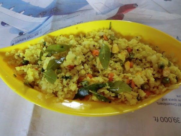Vegetable Poha/poha With Carrot,corn And Green Peas Recipe | Yummly