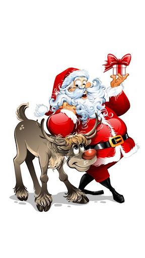 圣诞老人 动态壁纸