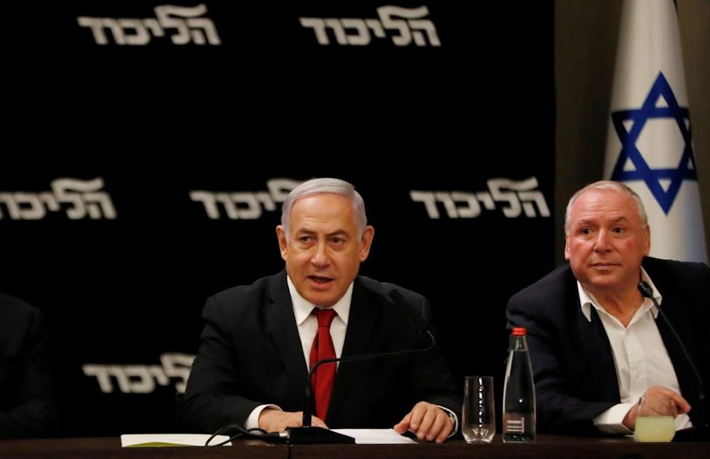 Met 90% van die stemme in Benjamin Netanyahu mis die meerderheid