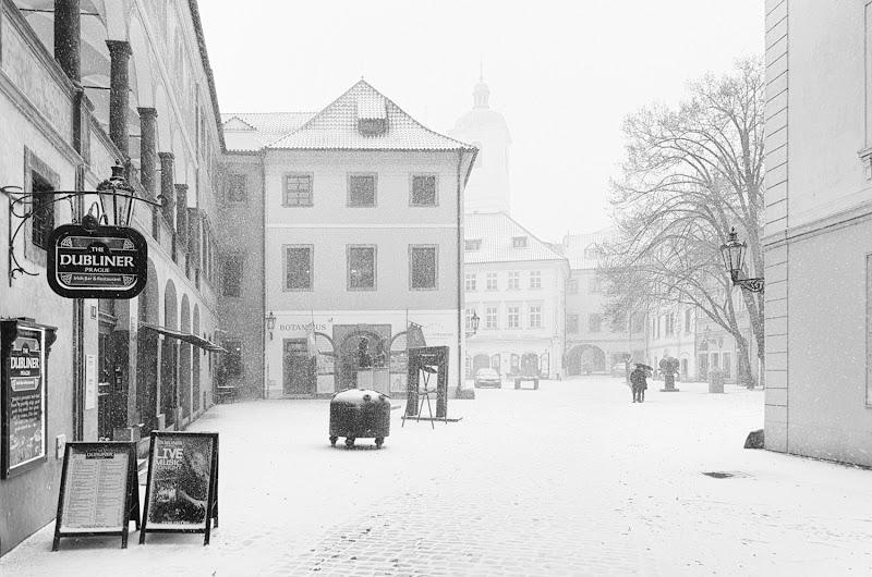 Passeggiando sotto la neve di Rawale