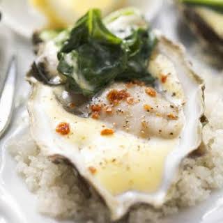 Hollandaise Oysters.