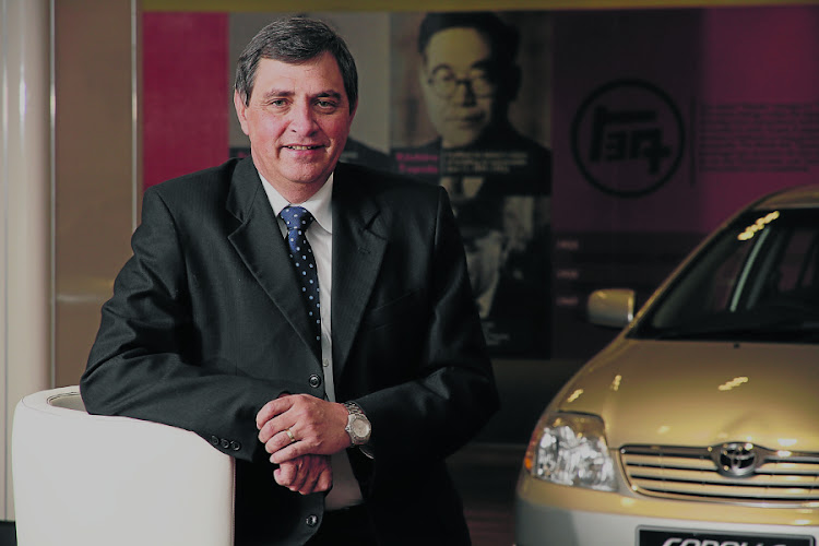 Johan van Zyl, president of Toyota Europe. Picture: FINANCIAL MAIL
