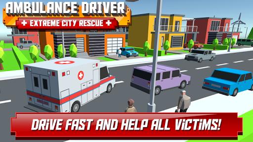 Ambulance Driver - Extreme city rescue 1.0 screenshots 8