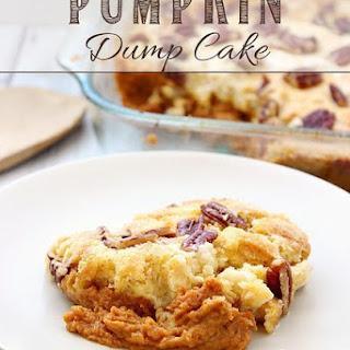 Pumpkin Dump Cake.