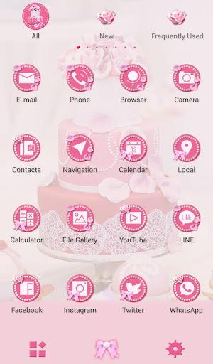 Happy Wallpaper Pink Wedding Cake Theme 1.0.0 Windows u7528 3