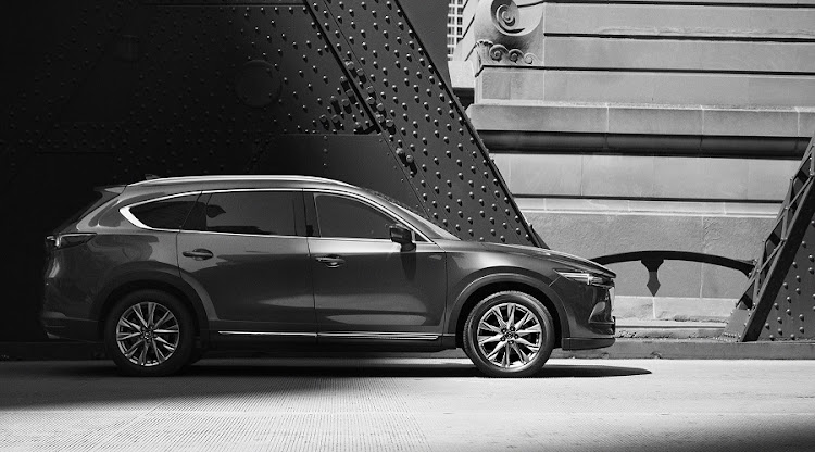 The Mazda CX-8 is not yet confirmed for SA. Picture: QUICKPIC