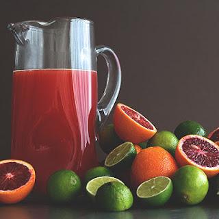 Blood Orange Margarita . . . Pitchers!