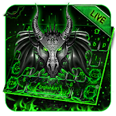 Live Neon Green Metal Dragon Keyboard Android APK Download Free By Bs28patel