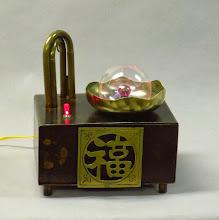Photo: Asian Steampunk Plasma Lamp