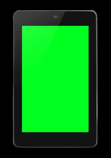 Green Screen LongClick=Blue