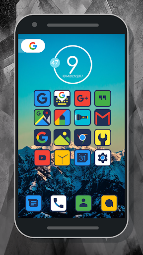 Merrun - Icon Pack app for Android screenshot