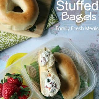 Stuffed Bagel Sandwiches